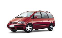 Volkswagen Sharan 1-е поколение 1995 - 2000, коврики в салон