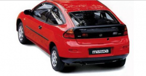 Mazda 323 (BA) (3d) 5-е поколение 1994-2000, коврик в багажник