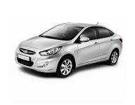 Hyundai Solaris 2-е поколение (рестайлинг) 2014-2017, автомобильные коврики
