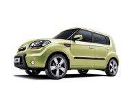 Kia Soul 1-е поколение 2008-2014, автомобильные коврики