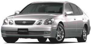 Toyota Aristo 1997 - 2004 правый руль, коврики