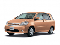 Toyota Raum 2 2003 - 2011 Правый руль, коврики в салон