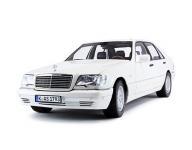 Mercedes S-класс 3-е поколение (W140) 1991-1998, автомобильные коврики