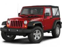Jeep Wrangler (JK) 3-е поколение 3D 2007-2018, коврик в багажник